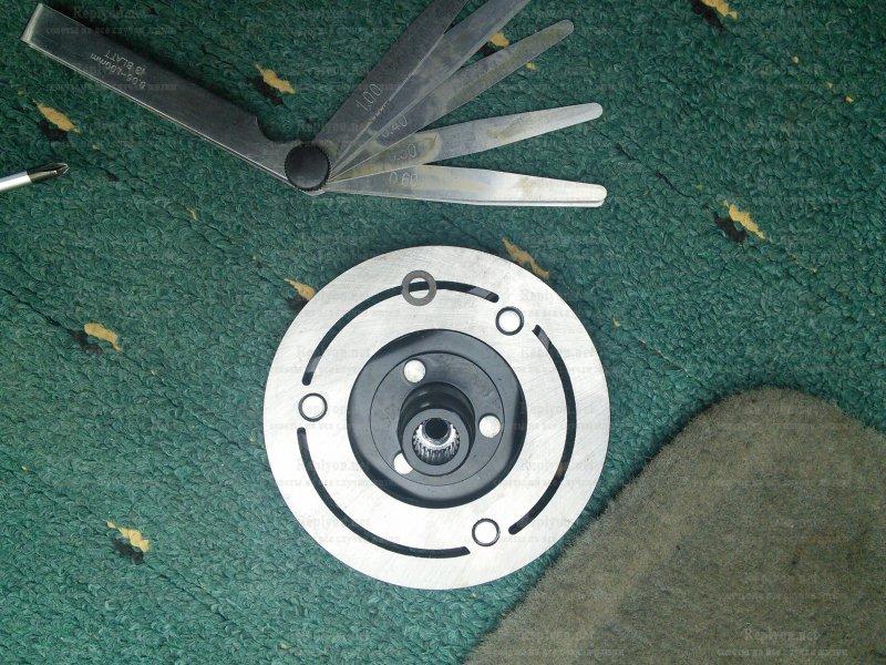 Замена электромагнитной муфты мазда 3