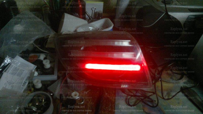 Диодные фонари для мазда 3