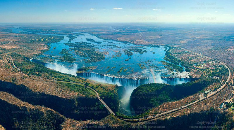 Кто открыл водопад Виктория