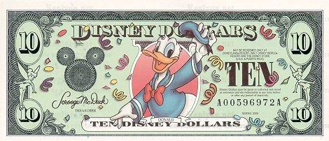 Дисней доллар