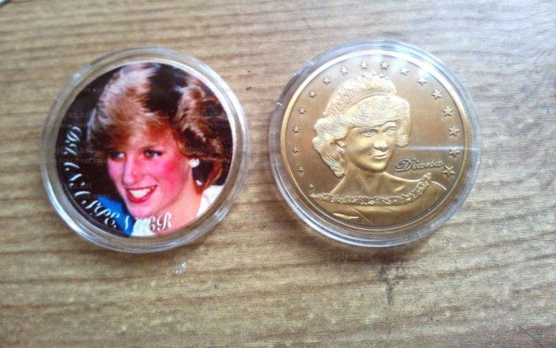 Монеты принцессы Дианы