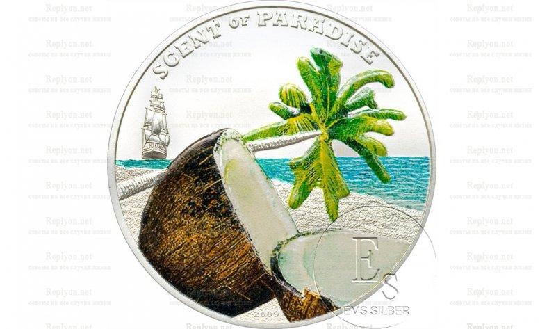 Монеты пахнущие острова Палау
