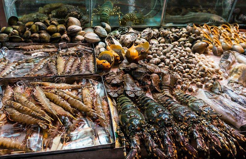 рынок морепродуктов во Вьетнаме