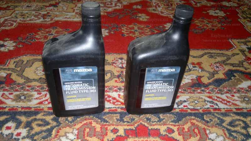 Оригинальное масло Мазда ATF M III