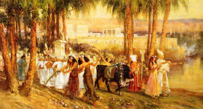 Празднование нового года в древнем египте