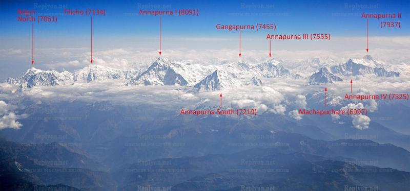 Аннапурна цепь горных массивов